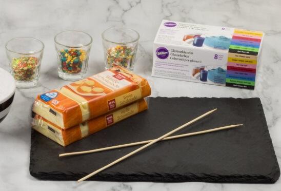 DIY Einhornschokolade - Zutaten
