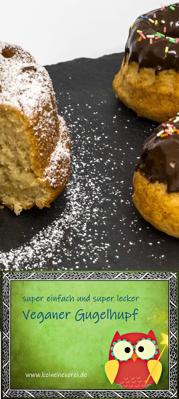 #Vegan #Muffin #Gugelhupf #Backen #einfach